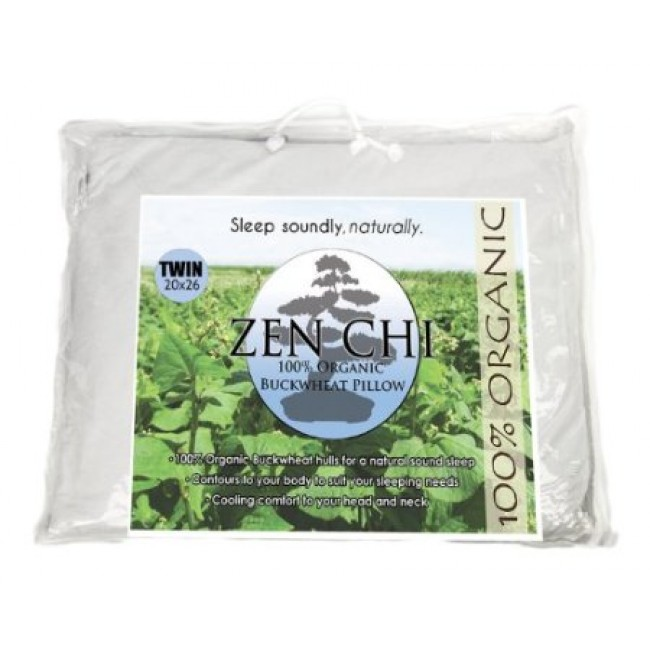 Zenchi Twin Size Buckwheat Pillow